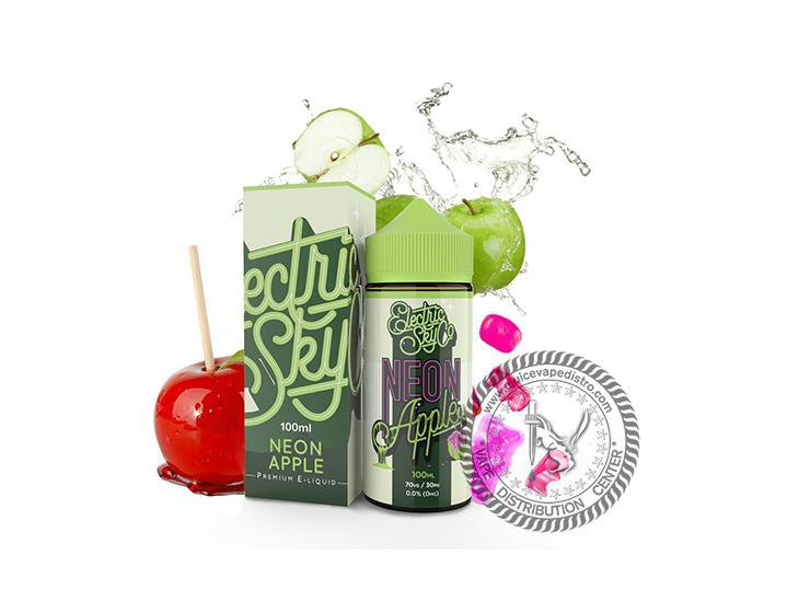 ELECTRIC SKY CO | Neon Apple 100ML E-Liquid