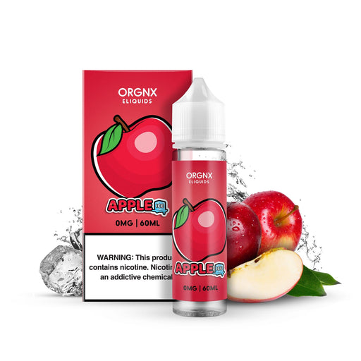 Apple Ice by ORGNX E-Liquids 60ML