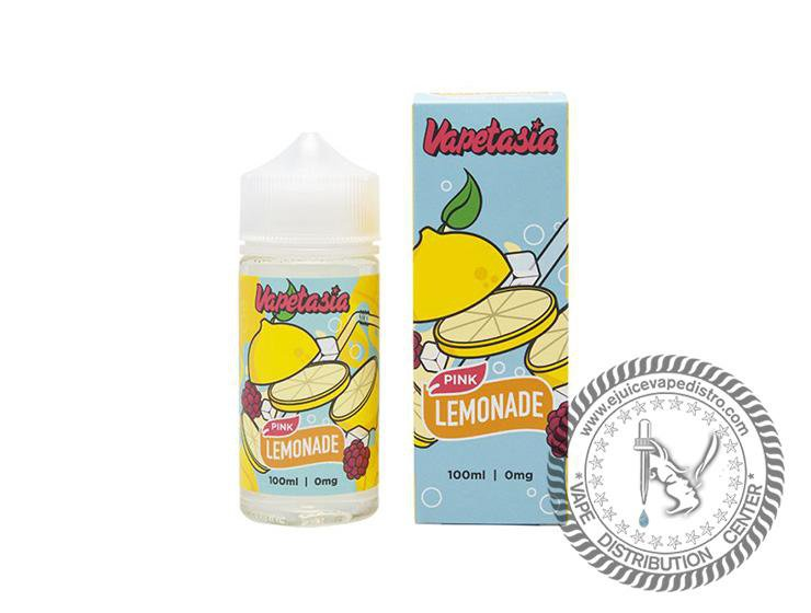 VAPETASIA | Pink Lemonade 100ML E-Liquid