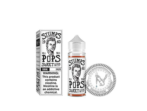 Stumps | Stumps Pops by Charlies Chalk Dust 100ML E-Liquid
