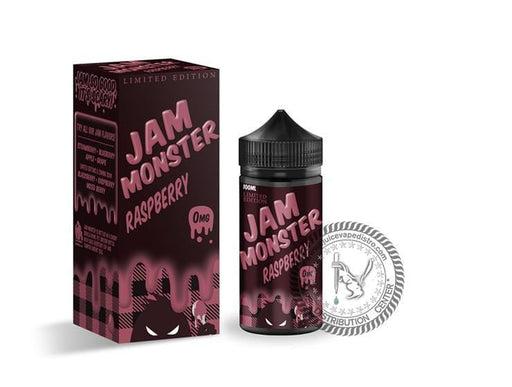 JAM MONSTER | Raspberry 100ML E-liquid