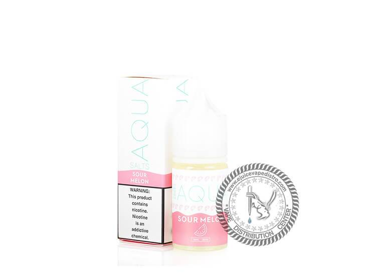 Aqua Salt | Sour Melon Salt 30ML E-liquid
