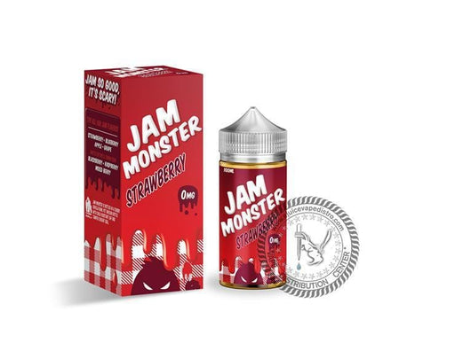 JAM MONSTER | Strawberry Jam 100ML E-liquid