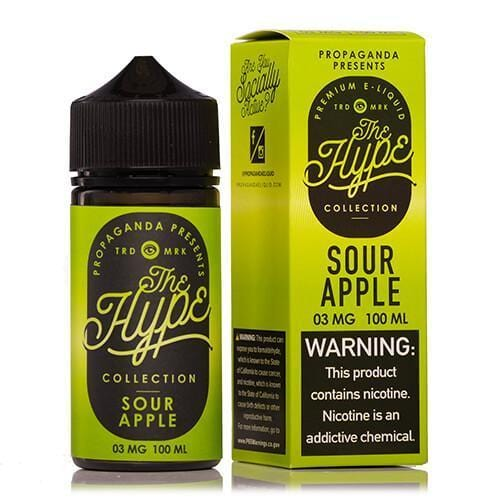 Sour Apple Dust by Propaganda Hype Collection 100ML
