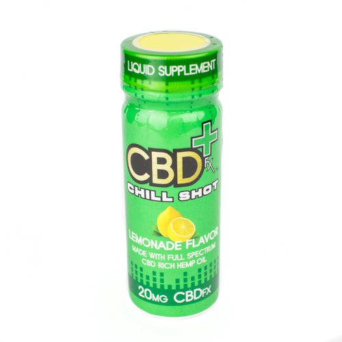 CBDfx: Chill Shot 20mg CBD (Lemonade Flavor)
