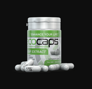 Ecocaps Bottle: CBD Capsules 30  count (30mg CBD)