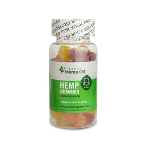 Tasty Hemp Oil: CBD Gummies 40 Count (1000mg CBD)