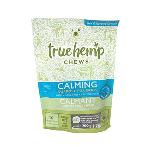 True Hemp Chews: Support for Dogs - Calming (40 Chews) 7oz