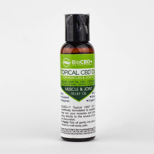 BioCBD+: Topical Oil for Muscles & Joints 64mg
