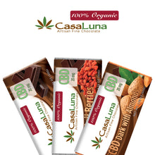 CasaLuna: Chocolate Bar 60 mg (Milk/Dark Chocolate)
