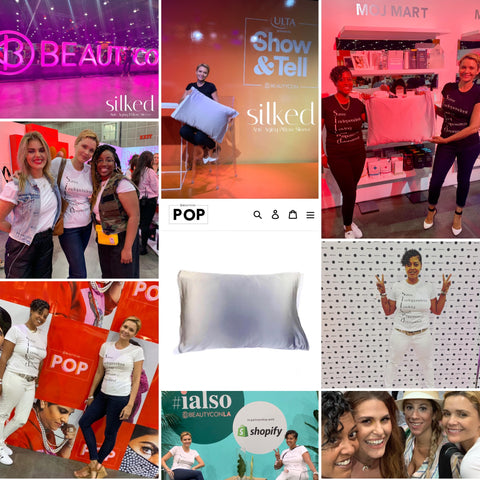 Silked Beautycon POP Exclusive Brand Showcase with Shopify Instagram Interveiw