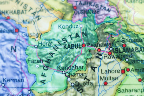 MAP OF KABUL AFGHANISTAN