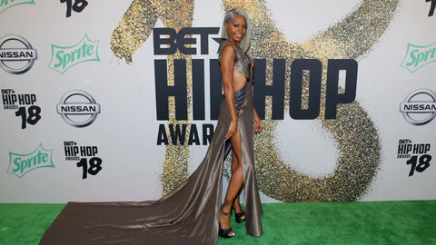 2018 BET Hip Hop Awards red carpet Cierra Brooks