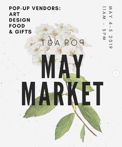 Tea Pop LA Sunday May 5th 2019 POP UP | SIlked Pillow Sleeve