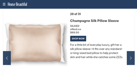 Mother-in-Law Gifts She's Sure to Adore Featuring Silked Silk Beauty Sleep Pillowcase, Eye Mask