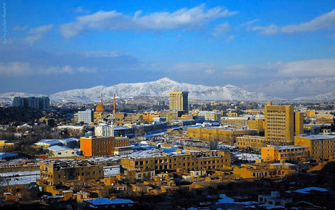 City Scape Kabul Afghanistan