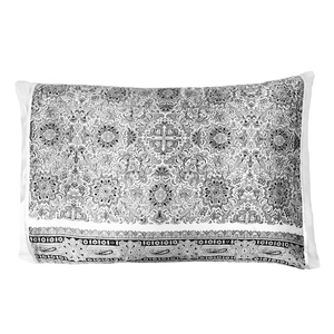 Silked Silk Pillowcase Pillow Sleeve Black/White Paisley 100% Silk #1 Best Seller Made in USA Hotel Travel Beauty Product Antibacterial Hypoallergenic
