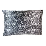 Silked Silk Pillowcase Pillow Sleeve Black and White Cable Knit Sweater
