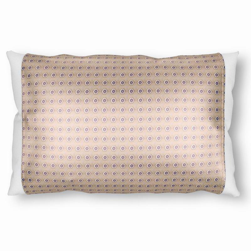 Silked Silk Pillowcase Pillow Sleeve Eco-sustainable One Size Fits Most, Made in USA #1 Best Seller Eco Sustainable Silk Print