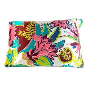 Vintage Tropical Silk Pillow Sleeve