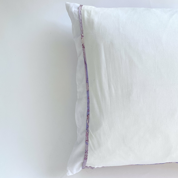 Lana Tropics Lilac Purple Silk Pillow Sleeve BUY ONE GET ONE 50% OFF! CODE:PRINTPAIR
