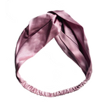 Silk Head Bands are made with luxurious 100% Mulberry silk (19 momme). Designed to provide restorative beauty benefits that protect your hair from breaking, while offering a fashionable way to style your hair.