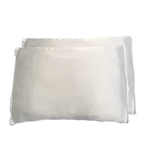 2 Silver Grey Silked Pillow Sleeve (Pair)  - CLEARANCE CODE:SILVER30 for 30% Off!
