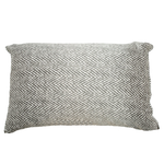 Silked Silk Pillowcase Pillow Sleeve Grey Chevron