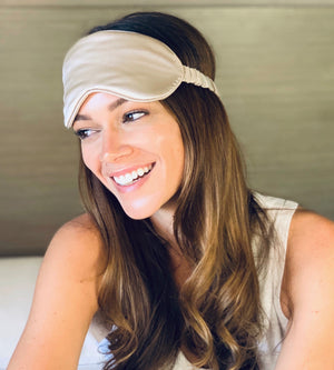 Silk Eye Mask 3 Colors- Bronze Clearance! 50% Off with code:SBS50