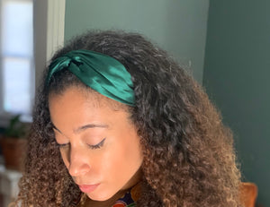100% Silk Headbands - 6 Colors