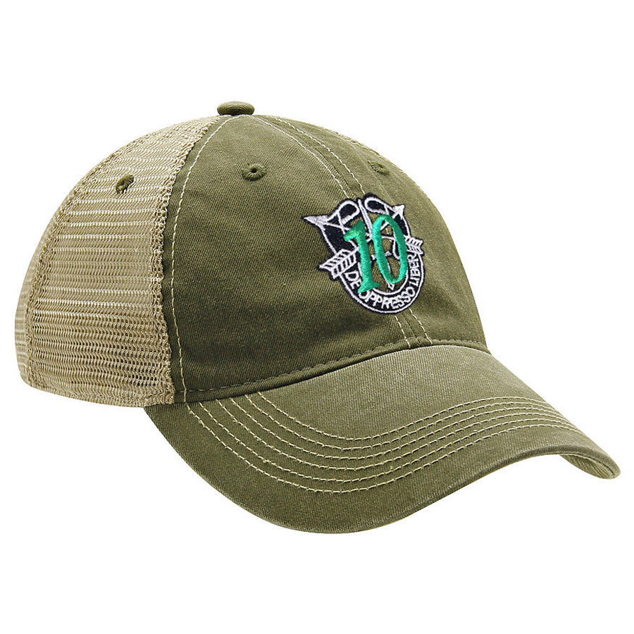 10th Special Forces Group Ball Cap - MESH