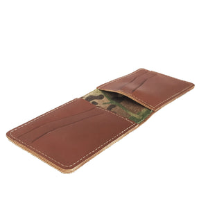 "H6 Card Wallet ""Cognac"""