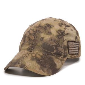 5th Special Forces Group Black and Gray V Ball Cap