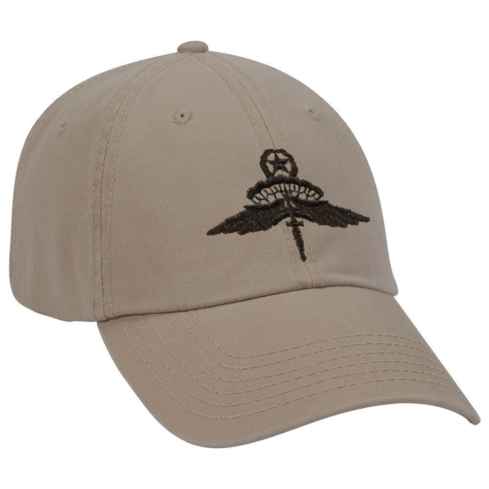 Military Freefall (HALO) Jumpmaster Subdued Ball Cap