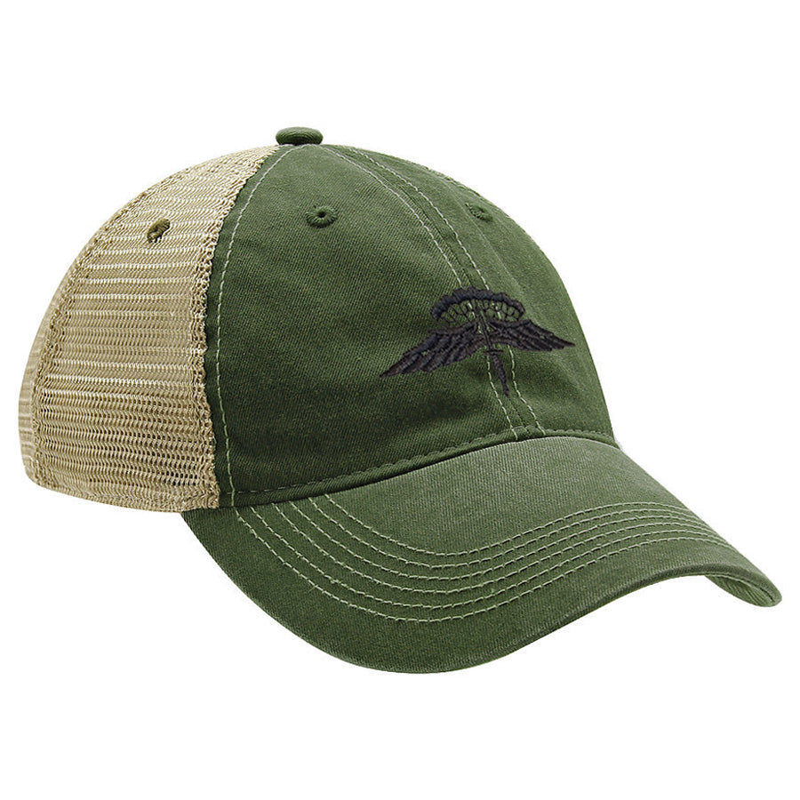 Military Freefall (HALO) Subdued Ball Cap - MESH