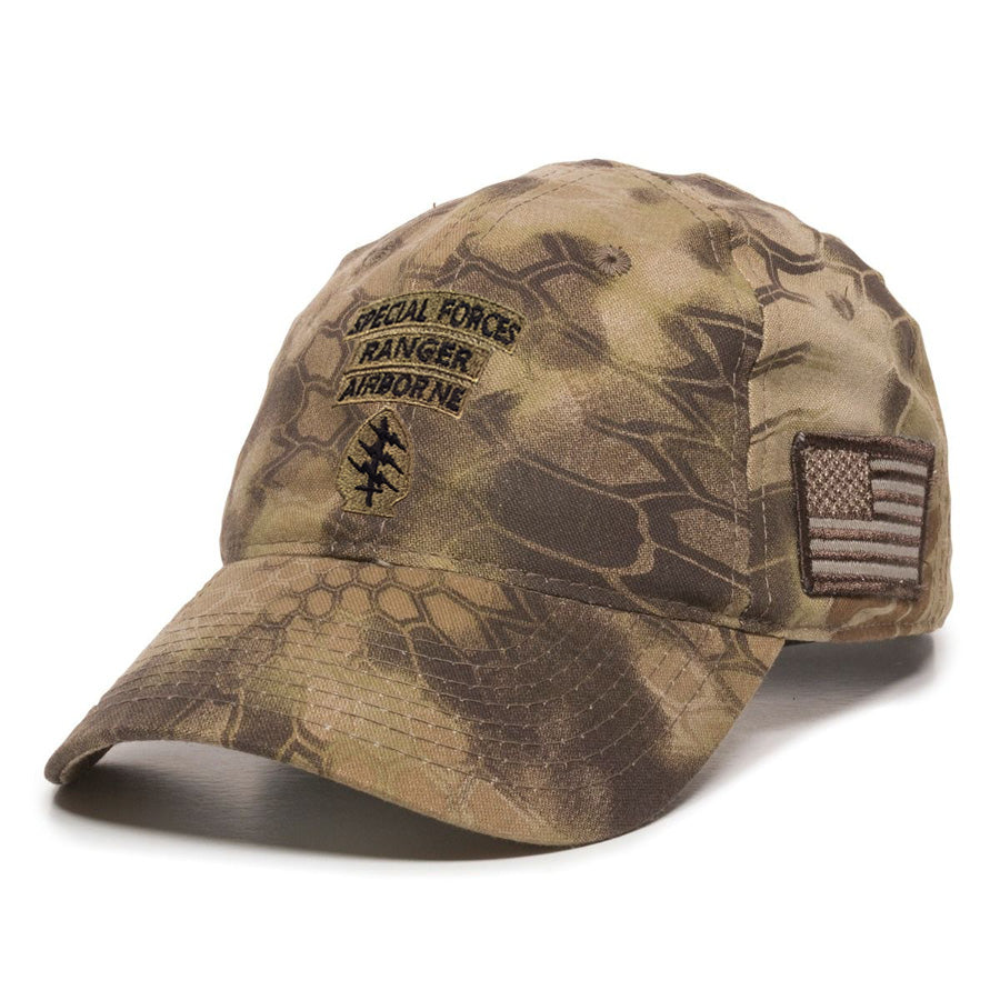 Special Forces SSI Ranger Subdued Ball Cap