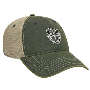 Special Forces Crest Ball Cap - MESH