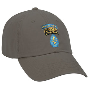 Special Forces SSI Ranger Color Ball Cap