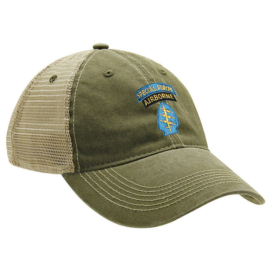 Special Forces SSI Color Ball Cap - MESH