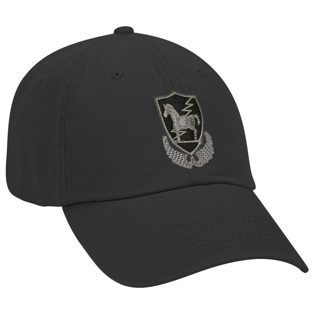 Trojan Horse Gray Subdued Ball Cap