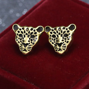 Ties2you New Silver Leopard Shape Collar Pin