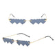 Ladies Fashion Love Heart Shaped Sunglasses Metal Temples Plastic Decorated Sunglasses