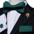 Dark Green Solid Self-tied Bow Tie Pocket Square Cufflinks Set with Lapel Pin