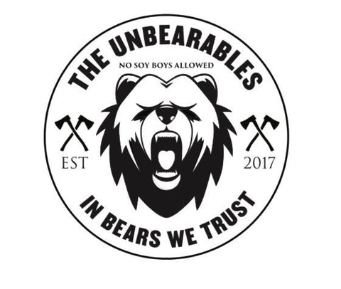 The Unbearables Vinyl Sticker