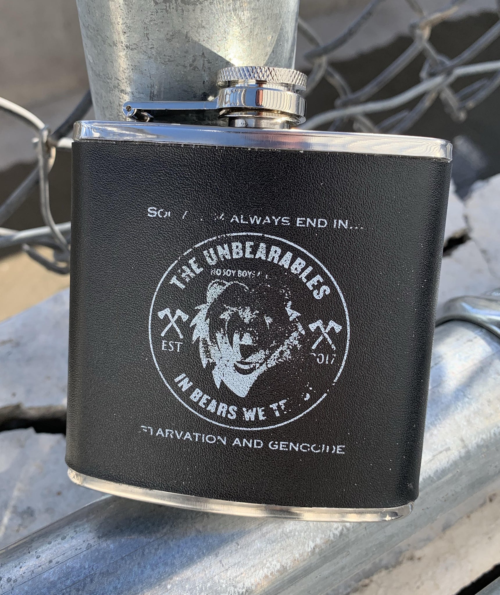 """Quality"" Road Flasks"