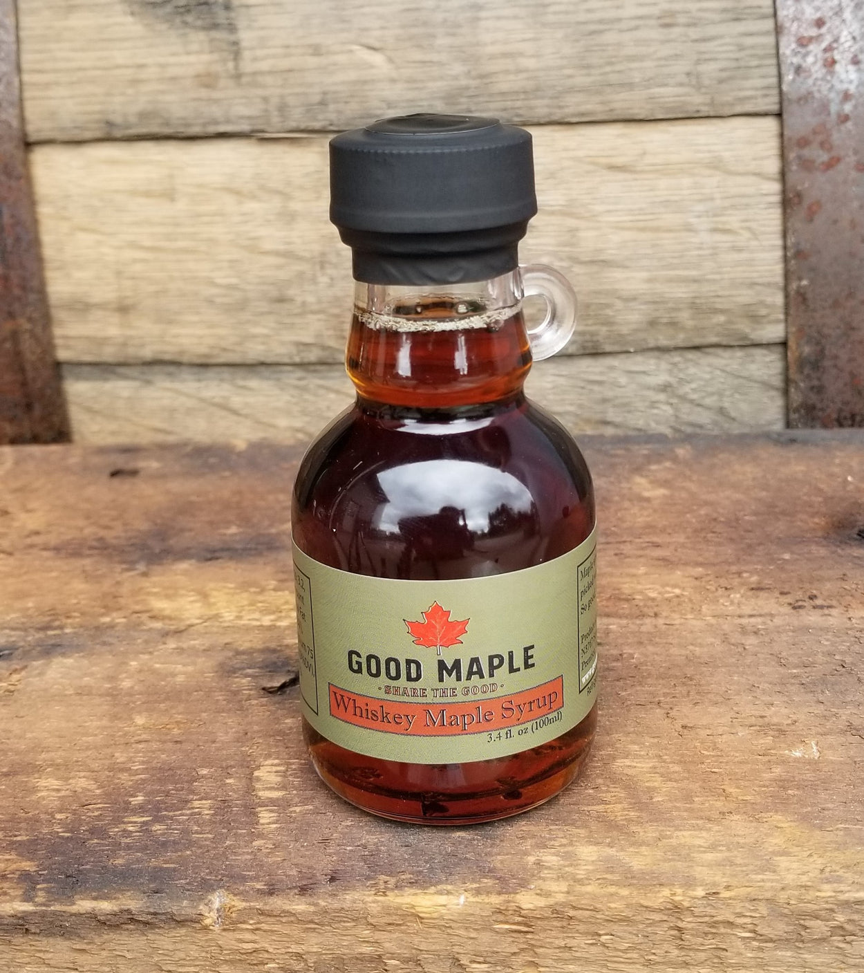 Whiskey Barrel-Aged Maple Syrup 100 ml