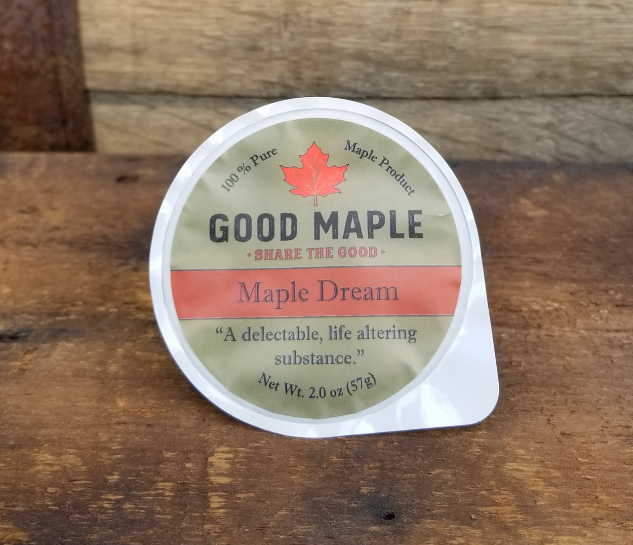 Maple Dream Cups 2 oz.