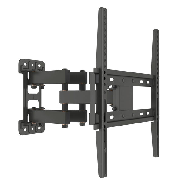"Full Motion TV Bracket Fits TVs 32"" - 55"" Single Stud Double Arm Universal Compatibility"
