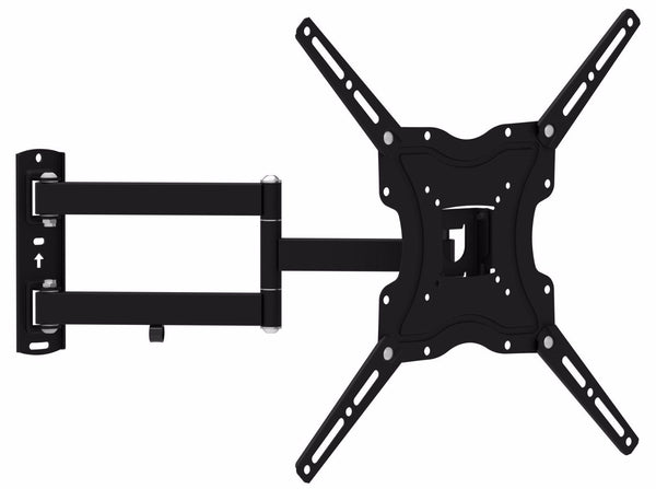 TV Wall Mount Single Arm Bracket Universal Compatibility - Fits TVs Sized 32