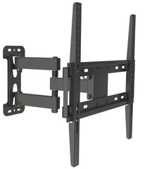 "Husky Mount 32"" to 55"" TV Mount Single Arm Full Motion Corner Friendly"